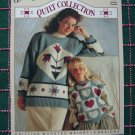 4 Vintage Misses 1 Girls Sweaters Knitting Patterns Quilt Book 1231
