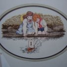 1 Cent USA S&H Vintage Cross MY Heart Counted Cross Stitch Pattern Summer Reflections