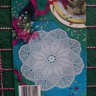 1 Cent USA S&H 6 Crocheted Doily Patterns Book Crochet Doilies