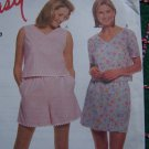 Misses Summer Sewing Pattern Crop Top Shorts Skort 2173 Sz 8 10 12 14