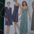 Simplicity Sewing Pattern Misses Strap Sundress Empire Waist Dress Jacket Sz 4 6 8  8569