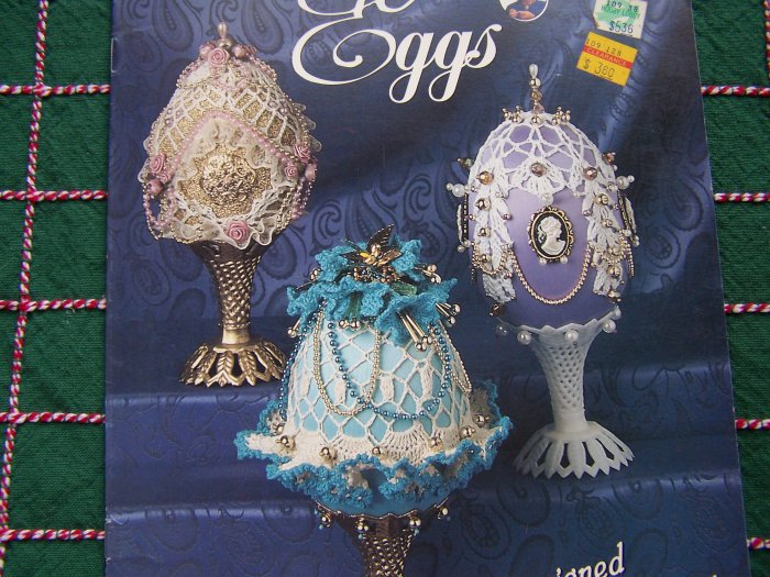Annie Potter Presents Crochet Pattern Book Decorative Enchanting Eggs 6 Patterns