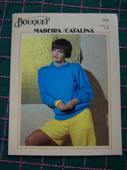 3 Vintage Knitting Patterns Womens Tops Sweaters Short & Long Sleeve