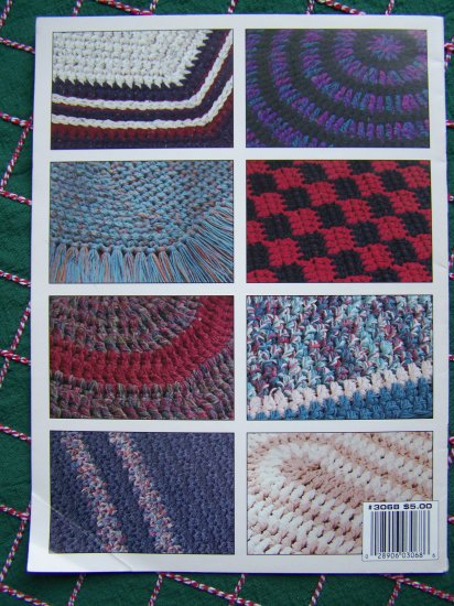 8 Worsted Yarn Q Hook Crochet Rug Patterns