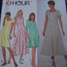 Misses S 8072 Sewing Pattern Fit Flared Dress Scoop Neck Dresses Sz 6 8 10