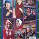 20 Crochet Patterns Winter Hats Muffs Earmuffs Gloves Scarf Hoddie Hat Scarves