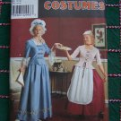 Misses Costume Sewing Patterns 8752 Colonial Cival War Wench 10 12 14