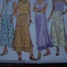1 Cent USA S&H McCall's 2154 Misses Long Overlay Skirts 2 Hour Easy Sewing Pattern 8 10 12