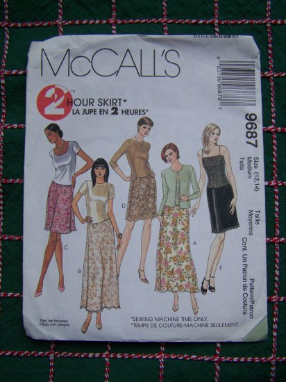 1 Cent USA S&H Misses 2 Hour 12 14 Skirts Pull on A Line Straight Over Skirt 9687