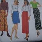 New Misses 2 Hour Wrap Skirt 2 Lengths Sewing Pattern 8835 McCall's 4 6 8