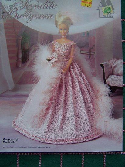 Annie S Barbie Fashion Doll Crochet Pattern Socialite