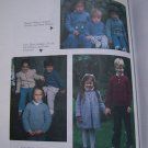30 Vintage Knitting Patterns Sweater Book For Baby Infant sizes to Childrens 12
