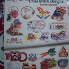 50 Cross Stitch Patterns Book Sam Hawkins Needlework Embroidery