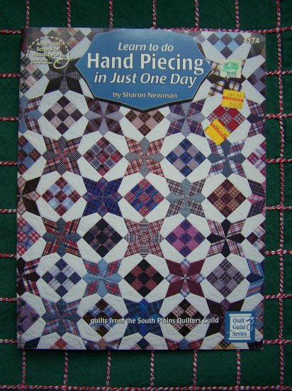 Learn to Make Hand Pieced Quilt Patterns Book 4174