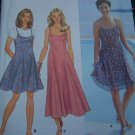 Misses Fit Flare Slip Dress Sundress Sewing Pattern 9682 Sz 10 12 14