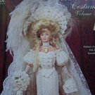 Crochet Pattern Paradise 27 Doll Costume 1908 Edwardian Gown Bridal Dress