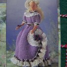 "Hollywood Stars II Crochet Patterns Doll Ruffled Dresses 17"" Starlette"