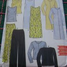 Misses Easy New Look 6949 Wardrobe Dress Top Pants 8 10 12 14 16 18