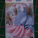 $1 S&H USA Baby Crochet Patterns Blankets Afghans Bibs Bottle Covers Boys & Girls