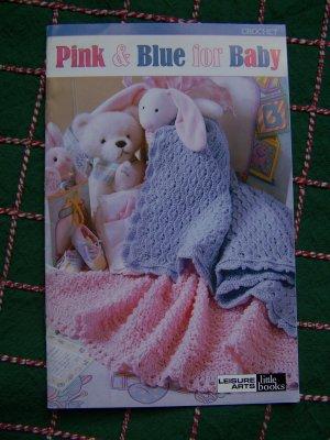 $1 S&H USA Baby Crochet Patterns Blankets Afghans Bibs Bottle Covers Boys & Girls