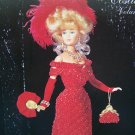 Paradise Crochet Pattern Costume Barbie Doll Vol 44 1908 Beaded Theater Gown Clothing & Accessories