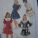 Uncut Vintage Girls 7 Sewing Pattern Dropped Waist Tiered Skirt 7431