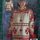 Vintage Bouquet Spinrite Yarn 8 Knitting patterns Mens Misses Sweaters Book Northern Spirit 1215