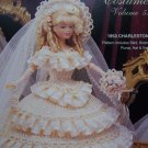 Paradise Barbie Doll 1853 Wedding Gown Clothing Crochet Patterns Paradise 53