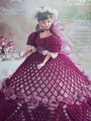 Crochet Barbie Dress Tutorial Pattern - Right Handed - YouTube   400x300