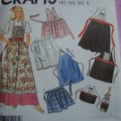 Vintage Aprons Sewing Pattern Mens WOmens Bottle Apron 2293