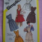 Misses Sz 18 20 Set of Vintage Aprons Uncut Sewing Patterns 6173 Simplicity