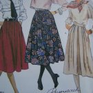 "Misses Vintage Skirts 27 & 30"" Length Sewing Pattern 2265 Sz 12"