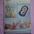 Baby Accessory Sewing Patterns Changing Table Pad Heads Up Bib Booties 6044