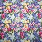2 + Yards Julia Allover Daisy Kingdom Cotton Fabric 3963 Floral Pattern Sewing Dress Material