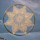 1 Cent S&H USA Thread Crochet Pattern Sun Catcher Pineapple Doilys 3 Sizes