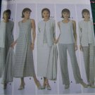 Misses Wardrobe Sewing Patterns 5345 Pants Skirt Top Dress or Jumper Jacket 8 10 12 14