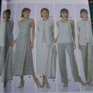 Misses Wardrobe Sewing Patterns 5345 Pants Skirt Top Dress or Jumper Jacket 8 10 12 14