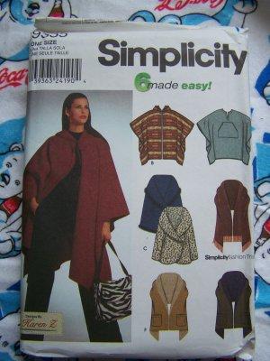 Fleece Pattern Poncho Sewing – Lena Patterns