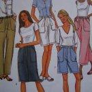 1 Cent S&H USA Misses 12 14 16 Sewing Pattern Slim Straight Leg Pants Skirt Shorts 4137