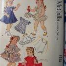 "New 1953 Doll Clothes Sewing Pattern 1825 Uncut Original 22"" Saucy Walker Bonny Braids Collectible"
