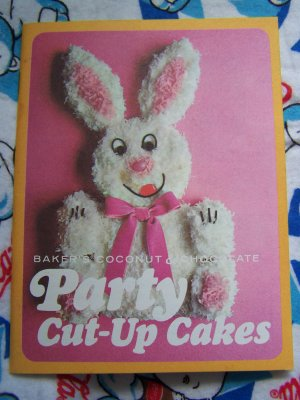 Vintage 1960 S Baker S Coconut Amp Chocolate Party Cut Up