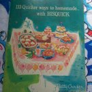 Vintage 50's Betty Crocker Bisquick 133 Recipes Cookbook General Mills
