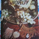 1970's Macrame Pattern Book Table Necklaces Purse Beaded Belt Chimes Ring