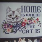 New Astor Place Home is Where The Cat Is Counted Cross Stitch Kit