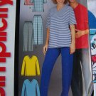 Free USA S&H  Mens Misses Teens Tops &  Pants Easy Sewing Patterns Simplicity 5258