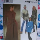 Simplicity 5436 Sewing Pattern Misses Lined or Unlined Coats Jackets 6 8 10 12