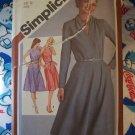 0 USA S&H Vintage Sewing Pattern Misses Dress Surplice Bodice Bias SKirt 9801