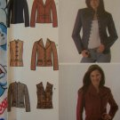 New Simplicity Sewing Pattern 4953 Womens Blazer Jacket or Vest 14 16 18 20