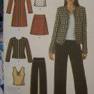 Plus Size Sewing Pattern Coat Jacket Pants Skirt Top 16 18 20 22 24 Simplicity 4369