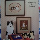 1 Cent USA S&H Country Cats Cross Stitch Pattern Charts Fergason & Friends Book 32